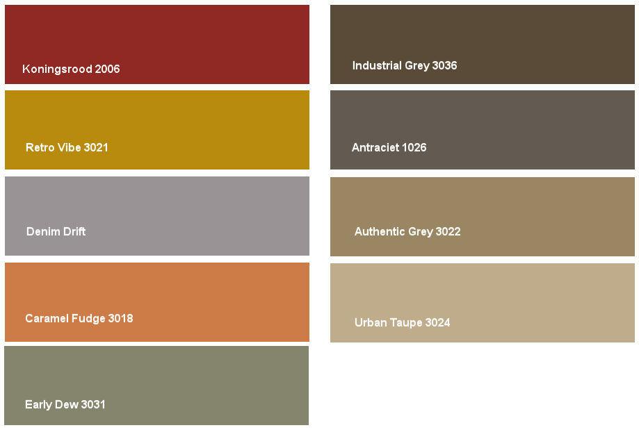 Denim drift: kleurencombinatie 2