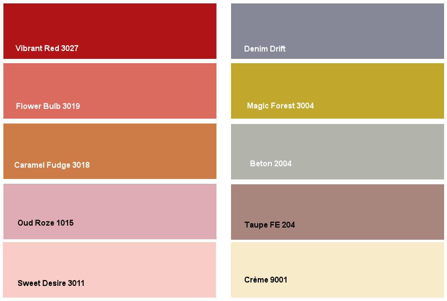 Denim drift: kleurencombinatie 3