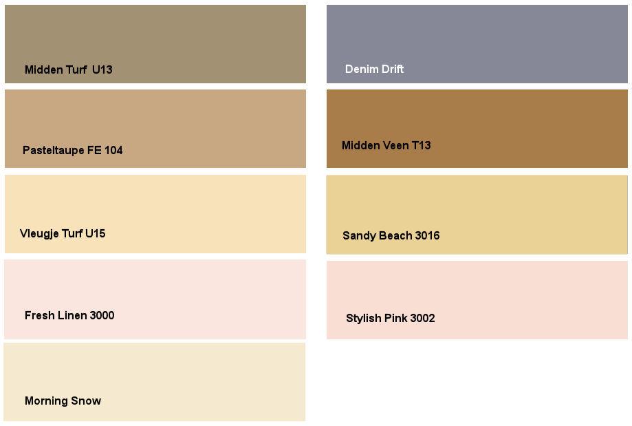 Denim drift: kleurencombinatie 4