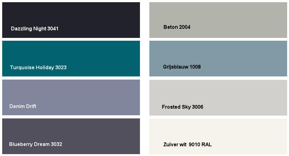 Denim drift: kleurencombinatie 5