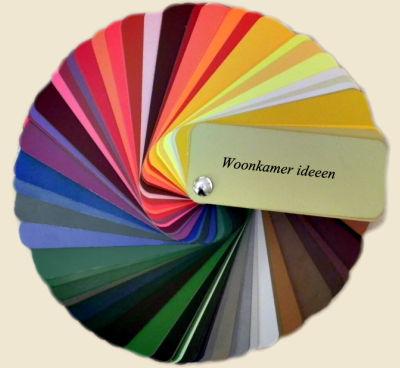 Kleuren in een waaier