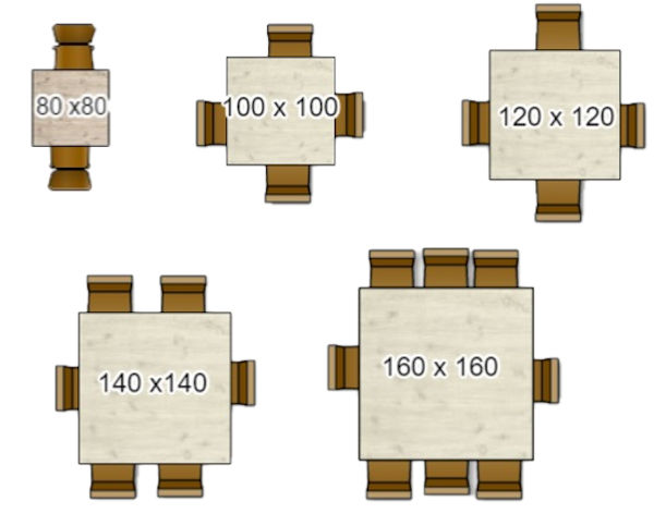 Vierkante Eettafel 4 Personen.Eettafel Kopen Bepaal De Juiste Afmeting Woonkamer Ideeen