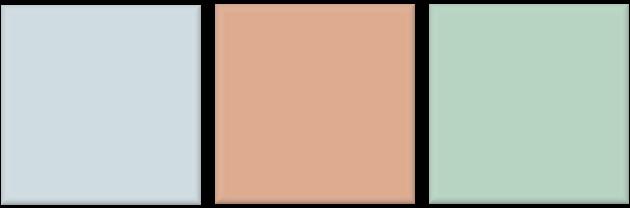 Kleurencombinaties: kleurengebruik bij weinig daglicht