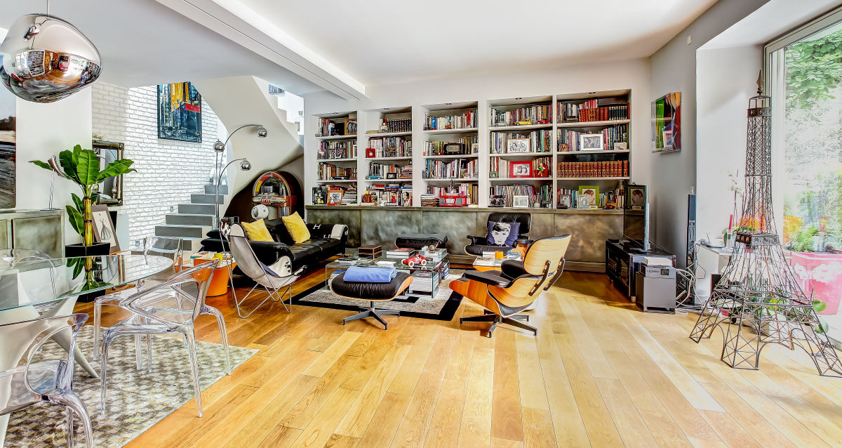 Woonstijlen woonkamer idee n - Eigentijdse woonkamer decoratie ...